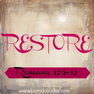 What Is Needed For Restoring Relationships