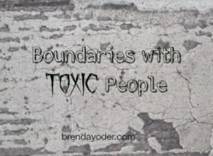 boundaries brenda yoder