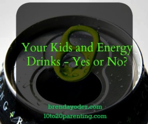 Why My Kids Don't Do Energy Drinks