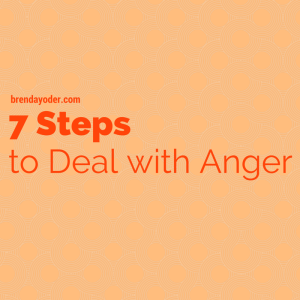 7 Steps for Dealing with Anger