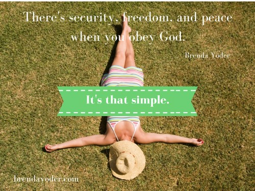 How to Obey Your Way to Freedom