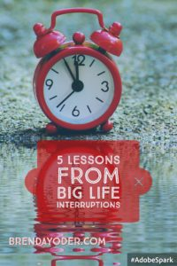 5 lessons learned from big interruptions