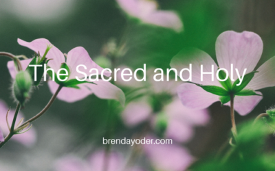 Sacred and Holy Moments